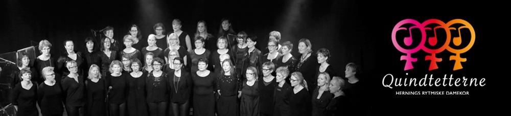 Quindtetterne – Hernings rytmiske damekor